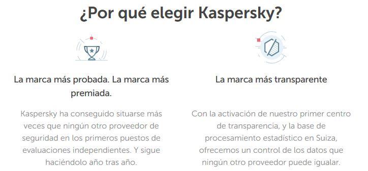 ¿porque elegir Kaspersky?